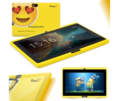 "Powerway DRN-X500 7"" Emoji 1Gb 8Gb Tablet Pc"