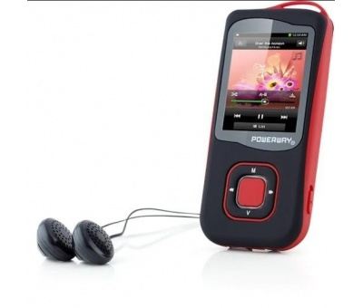 Powerway MP4 Player Şarjlı PW-007 2GB + FM Radyo + Ses Kayıt