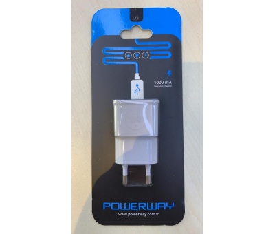 Powerway X2  | 1000 mAh Charge Ev Şarj Kafa Başlık