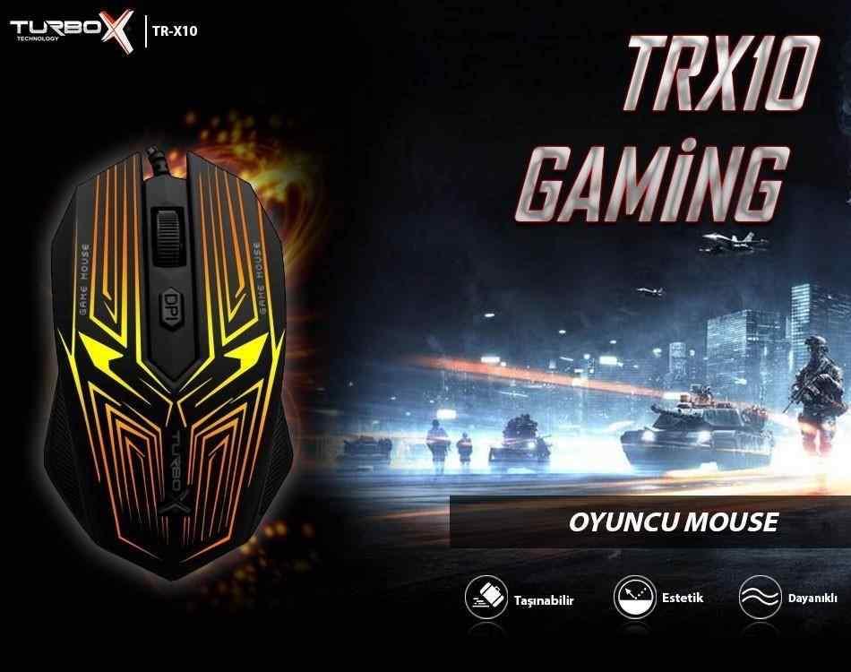 Turbox TR-X10 Işıklı Gaming Oyuncu Mouse