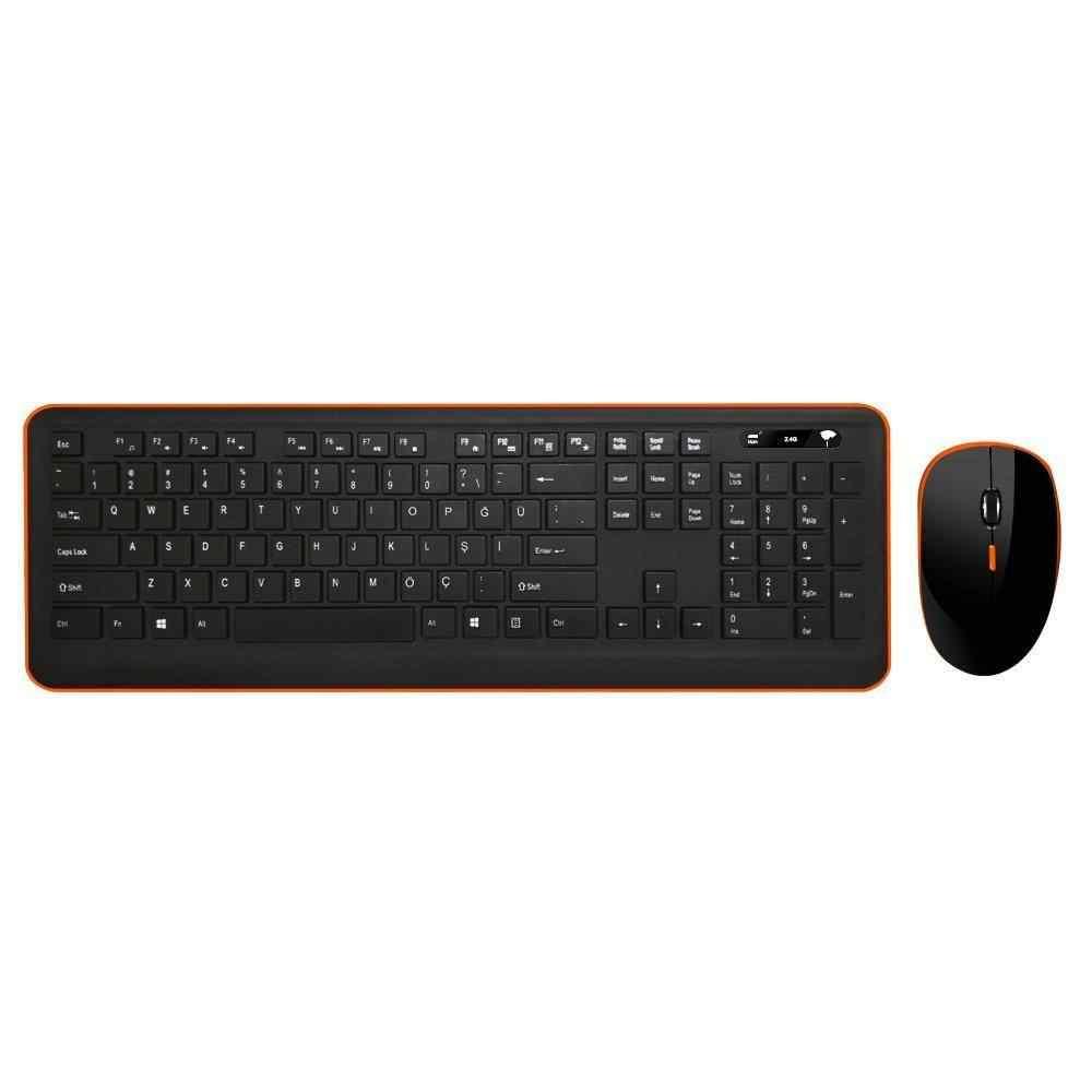 Turbox TR-K90 Kablosuz Wireless Q Klavye Mouse Set