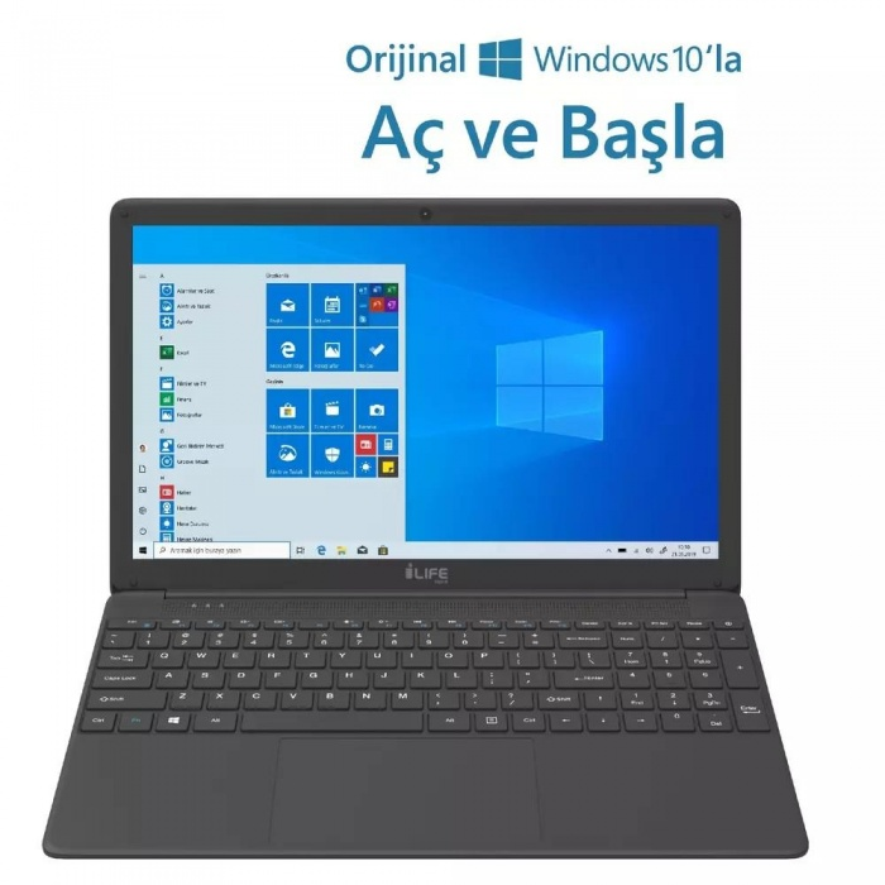 I-Life Zed Air CX3 Intel Core i3 5005U 4GB Ram 1TB HDD Freedos 15.6 inç Laptop