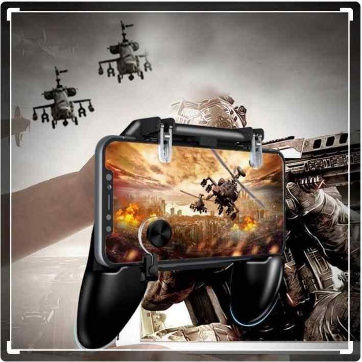 Pubg W11 Gaming Oyun Konsolu Gamepad Joystick Tetik Set