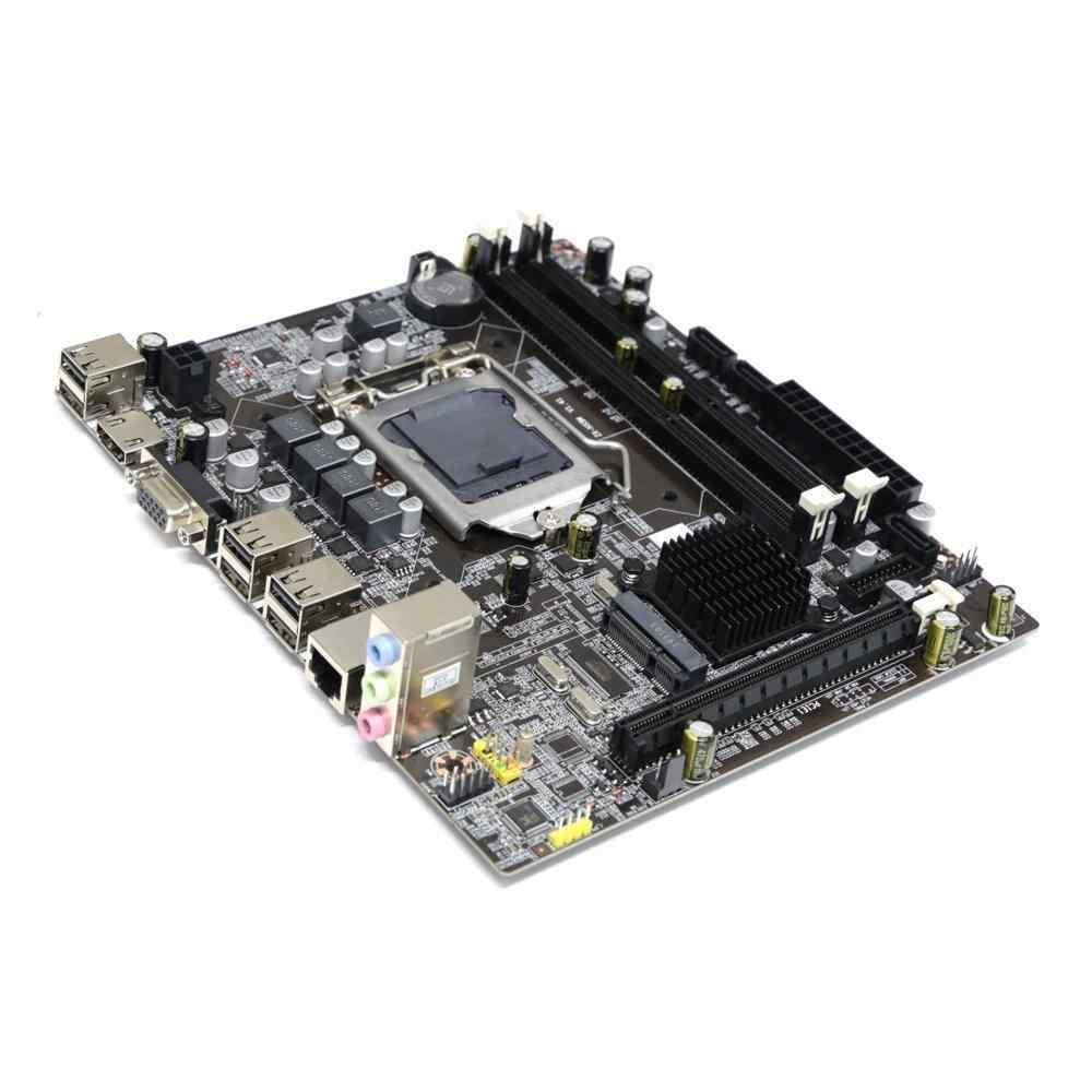Turbox H55M 1156P HDMI+VGA+SES 6xUSB2.0 Anakart (Kutusuz)
