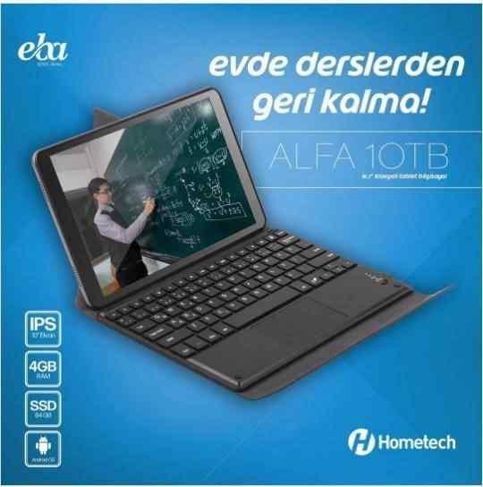 Hometech Alfa 10TB 4Gb 64Gb 10.1 iPS Tablet Bilgisayar