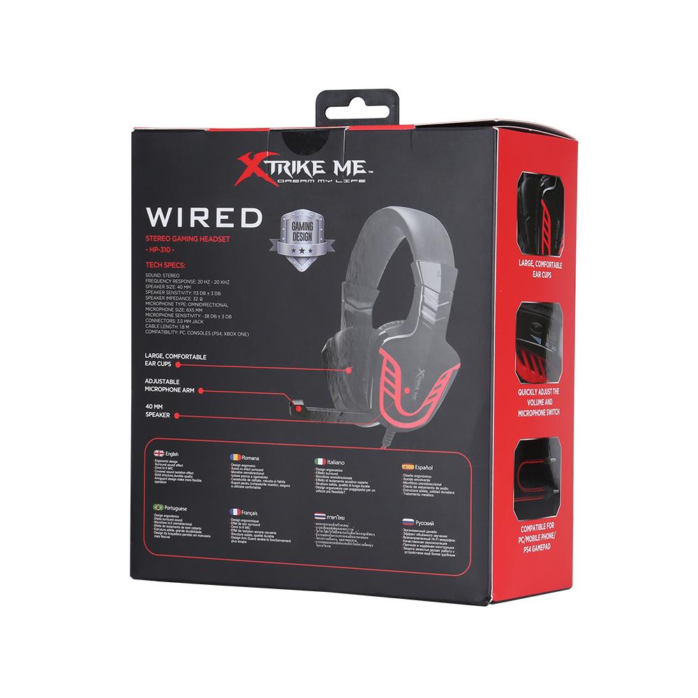 Xtrike Me® HP-310BK PC, PS4, Xbox One,Smartphone Stereo Gaming Kulaklık