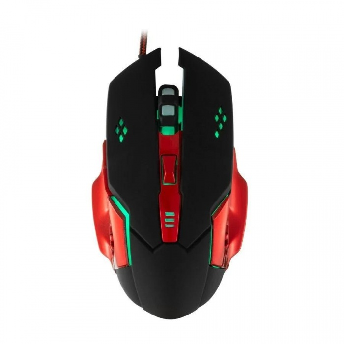 J-Tech® Red Dragon RGB Işıklı Ayalarlanabilir 3200 DPI Gaming Oyuncu Mouse + Pad 10272
