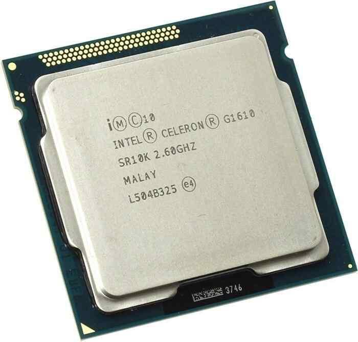 Intel® Celeron® G1610 İşlemci 2M Önbellek, 2.60 GHz 1156pin H61