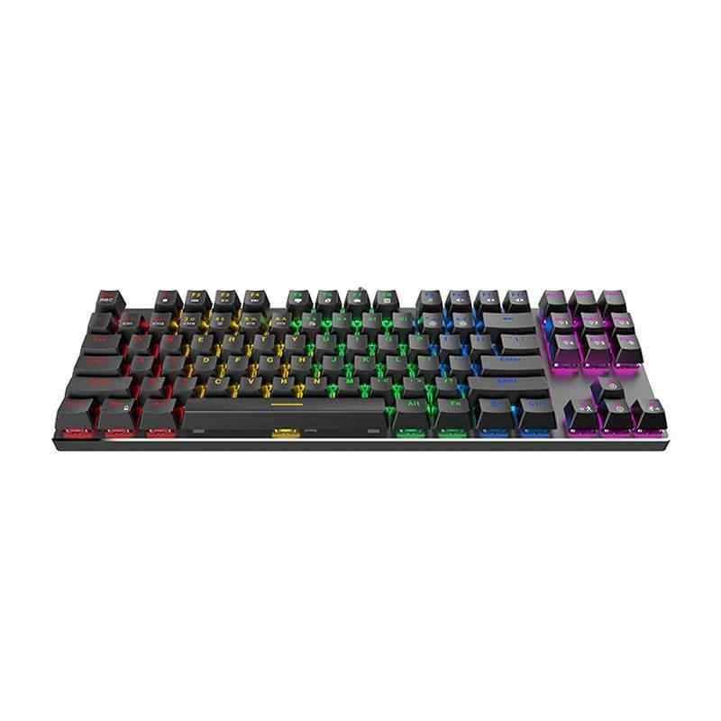 GameNote® KB435L Mekanik Backlit Gaming Klavye Siyah/USB/RGB Aydınlatmalı Q Klavye TR