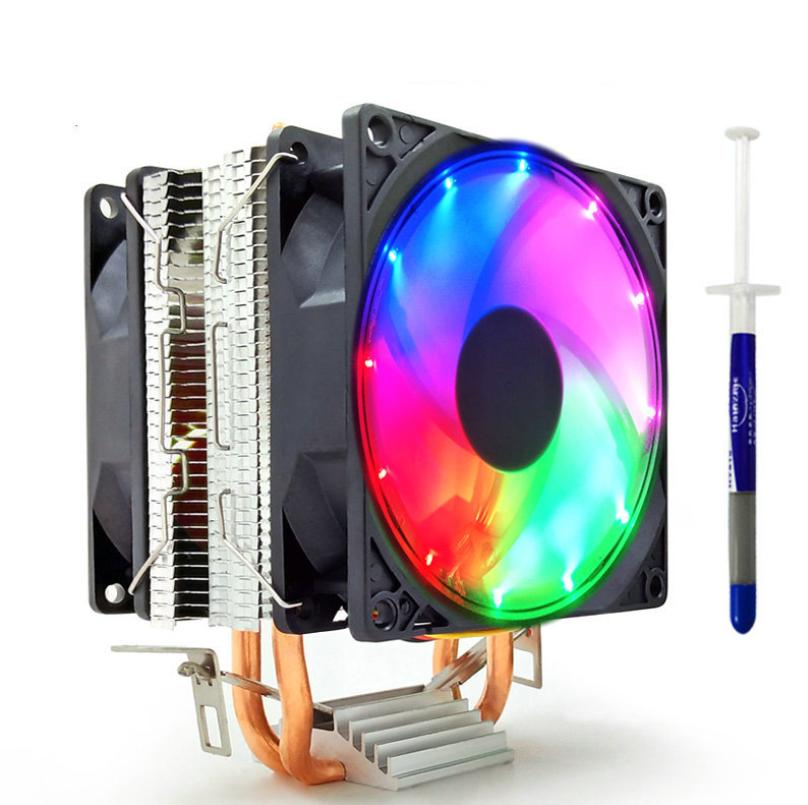 SNOWMAN M200 COMBO AMDİ/İNTEL 9CM LED IŞIKLI OYUN KASA CPU FAN