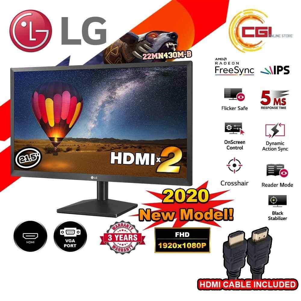 LG 21.5'' 22MN430M FHD 75Hz FreeSync IPS Monitor (2x HDMI)