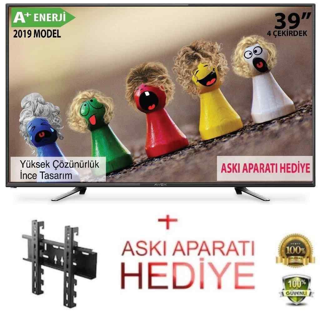 Awox 39 inc 100 Ekran Full HD Led TV | Dahili Uydu Alıcılı