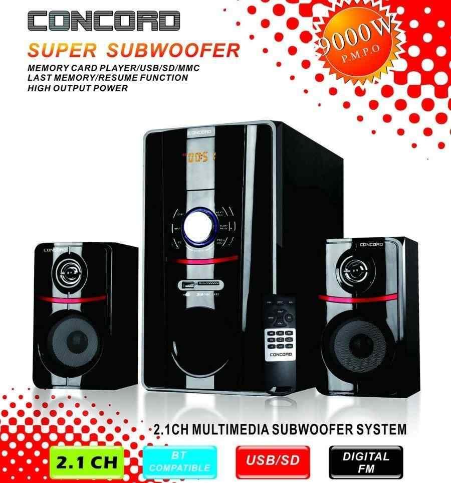 Concord C-223 | BT | TF | USB | FM | 2+1 Ses Sistemi Bass+Tiz Multimedia2